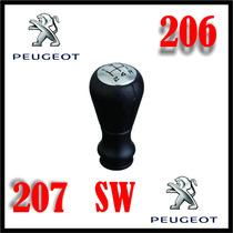 Bola Do Câmbio Marcha Manopla Peugeot 206 207 Sw