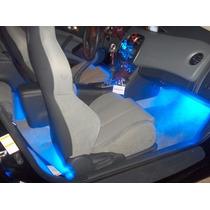 Luz Neon Interna Azul Cortesia Carro Tunning Acessorio Led