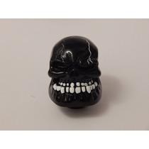 Manopla Bola De Cambio Caveira Black Skull Tuning Hotrod Top