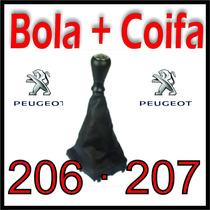 Kit Bola De Câmbio E Coifa Peugeot 206 207 Padrão Original ®