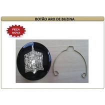 Botão Aro De Buzina Com Mola Fusca / Variant / Karmann Ghia