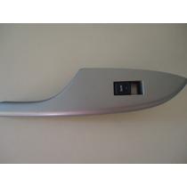 Moldura Com Botão Vidro Eletrico Traseira Esquerda Corolla