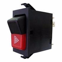 Botão Interruptor Pisca Alerta Gol Saveiro Quadrado 84 / 94