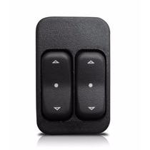 Botão De Vidro Eletrico Astra/celta/corsa/prisma 4-portas