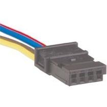 Conector Plug Chicote Reparo Botão Vidro Eletrico Gm Fiat Vw