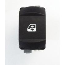 Botão Vidro Elétrico Renault Megane Dianteiro 2 Estagios