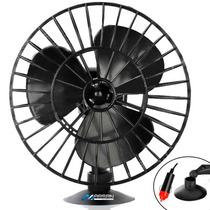 Mini Ventilador 5 Polegadas 12v Com Ventosa Carros - Kombi