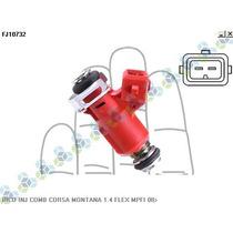 Bico Injetor Combustivel Corsa 1.4 Flex Mpfi 08/... - Delphi