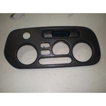 Moldura Ar Condicionado Relógio Digital Alerta Lancer Glx 97