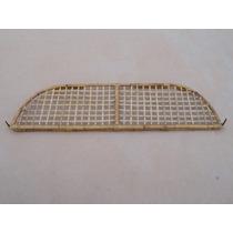 Bagageiro Interno De Fusca Porta-treco De Bambu P/ Painel