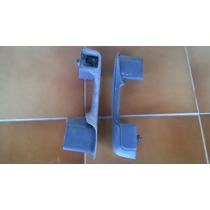 Puxador De Porta Escort Xr3 C/ Furo P/ Vidro Elétrico Par