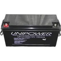 Bateria Estacionária Vrla/gel Semi-nova 12v 150ah Unipower