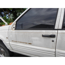 Vidro Porta Frontal Esquerdo Jeep Cherokee Limited Laredo