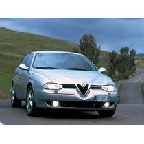 Vidro De Porta Dianteiro Alfa Romeo 156 97/...