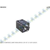 Rele Temporizador Limpador Para-brisa 12v 4t S/ Sup Logus