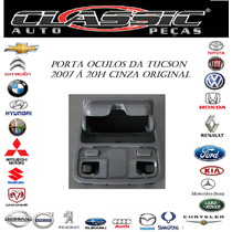 Console De Teto / Porta Oculos Da Tucson Original Cinza