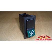 Botão Interruptor Ventilador Fiat 147 M.carto Original Preto