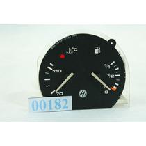 Marcador De Combustivel E Temperatura Indicador Logus 182