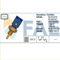 Sensor Temperatura Água 206 Xsara C3 Berlingo 3 Pinos Azul