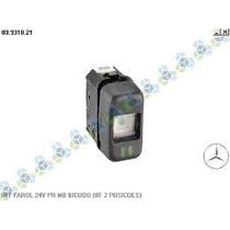 Interruptor De Luzes 12v Do Caminhão Bicudo Mercedes 8 Term