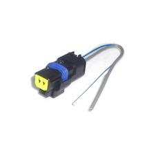 Conector 2 Vias Sensor Temp Bomba Limpad Palio Uno Clio 1129