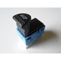 Botão Vidro Eletrico Azul Branco Fiat Brava E Marea Original