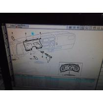 Lente Do Painel De Instrumentos S10 99/2000 Original Gm