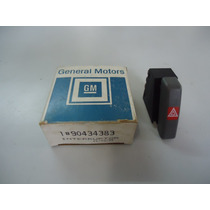 Botão Interruptor Pisca Alerta Vectra Original Gm 90434383