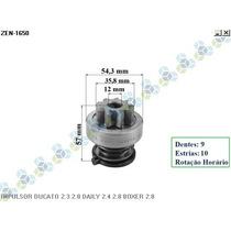 Impulsor Bendix Motor Partida Ducato 2.3 / 2.8 Frete Grátis