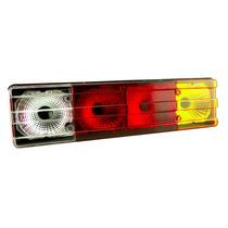 Lanterna Traseira Caminhão Mb Mercedes Metalizada Tricolor