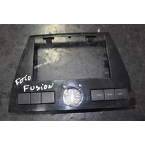 Moldura Central Fusion Ano 08 09 C/ Botão Pisca Alerta E Rel