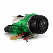 Acendedor De Cigarro Automotivo Universal Verde Gps Celular