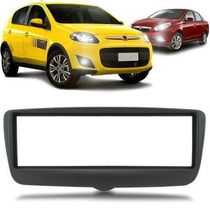 Moldura Painel Fiat Palio 2013 1din Dvd Cd Player Grafite