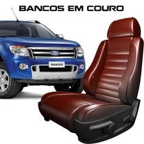 Acessórios Nova Ranger - Banco 100% Em Couro Padrão Fábrica
