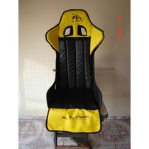 Capa Banco Concha Nylon Buggys Modelo Sport Ou Sparco