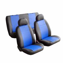Capas De Banco Couro Sintético Fiat Tipo Esportiva Azul