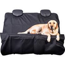 Capa Banco Traseiro Cães + Guia Cinto De Segurança Pet