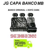 Capa Chinil Banco Caminhão Mb Mot Orig + Sofá Cama Pelucia