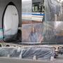Bobina Rolo 10 X 2 Lona Transparente Tecido Sem Acabamento
