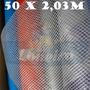 Bobina Rolo Lona Transparente Tecido 50x2,03 Sem Acabamento