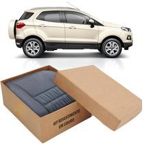 Kit Capas De Banco 100% Em Couro Padrão Ford Ecosport