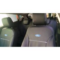 Jogo De Capas De Bancos Couro Sintético P/ Ford New Fiesta