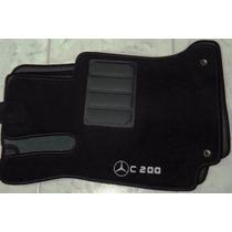 Jogo Tapete Carpete Base Borracha Mercedes C200