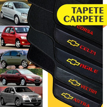 Tapete Personalizado Corsa Celta Agile Vectra Astra 5 Peças