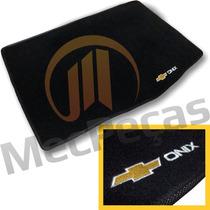 Tapete Porta Malas Carpete Com Bordado Personalizado Onix