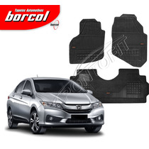 Tapete Borracha Borcol Interlagos Honda New City 2015 2016