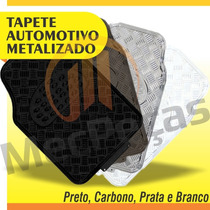 Tapete Automotivo Metalizado Pvc Tunning Universal