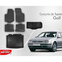 Tapete Golf 1992 A 2012 5 Pcs + Porta Malas Borracha Borcol