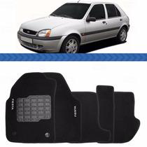 Tapete Fiesta 1996 1997 1998 1999 2000 2001 02 Carpete Preto