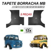 Tapete Borracha Caminhão Mb 1113 / 2013 2 Peças